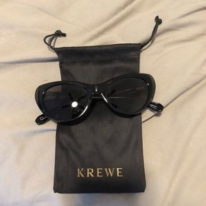 """New in pouch krewe """"Irma"""" sunglasses"""